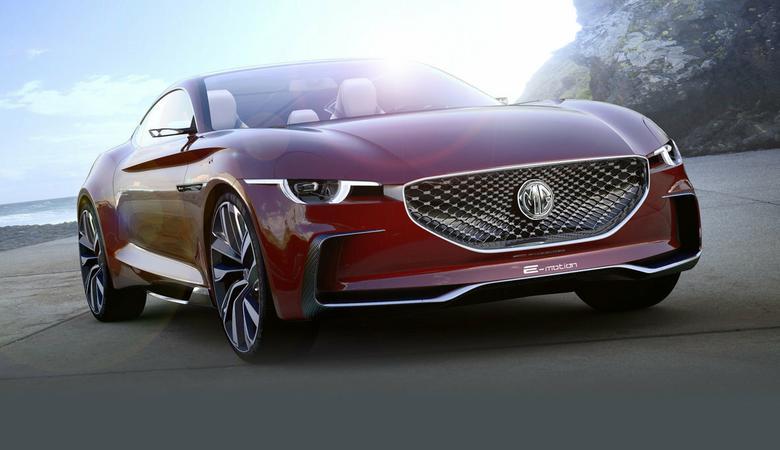 MG E-Motion – Rover wraca w nowym stylu?