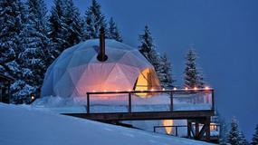 Zimowa noc w namiocie w Alpach? Oryginalna atrakcja w Szwajcarii