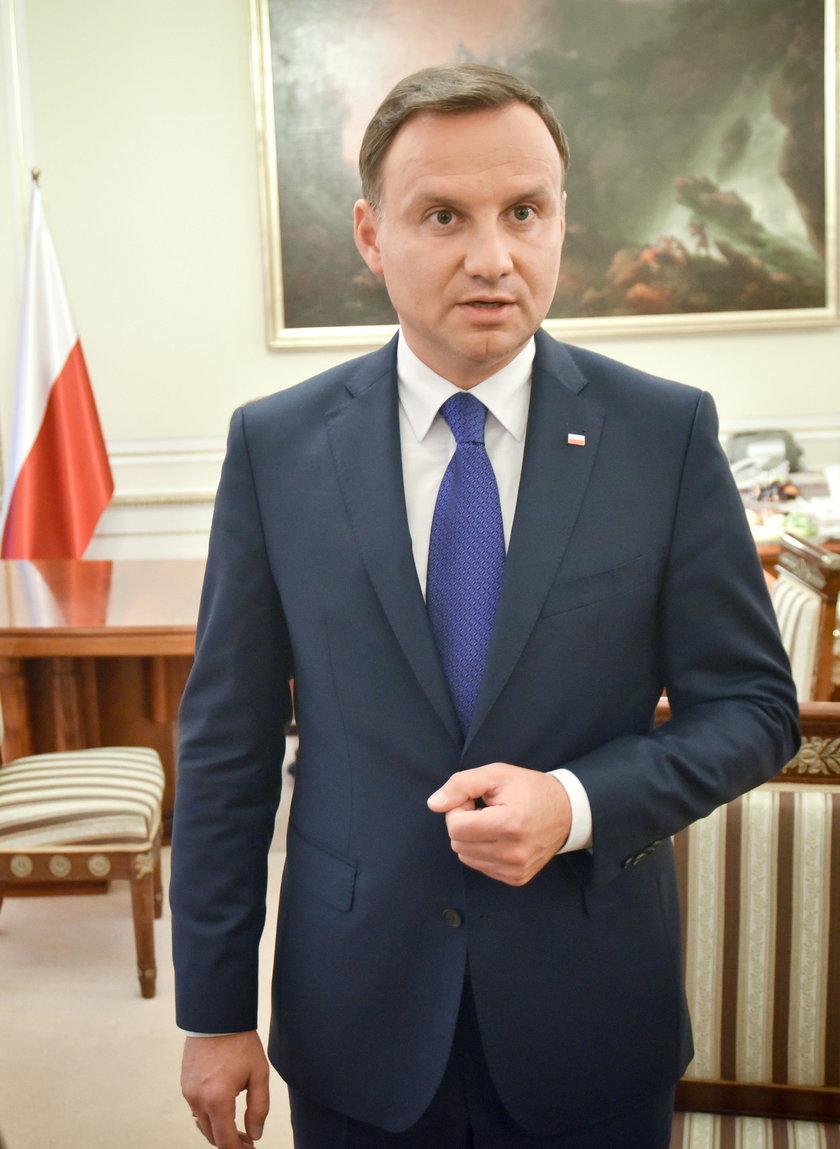 Spotkanie Duda–Kaczyński. Napięta atmosfera