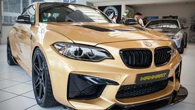 BMW M2 - 630 KM i całe w złocie