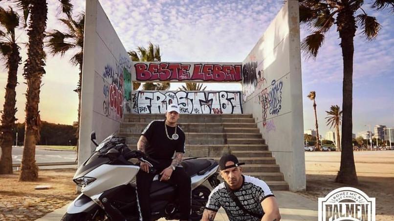 Bonez Mc Und Raf Camora Droppen Palmen Aus Plastik 2