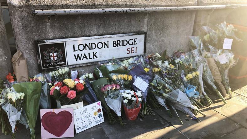 Miejsce ataku terrorystycznego w Londynie