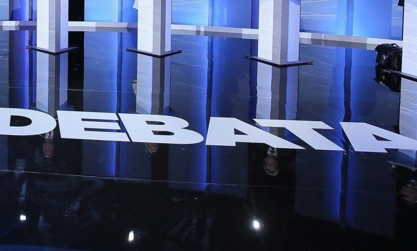 Przedwyborcza debata kandydatów w TVP