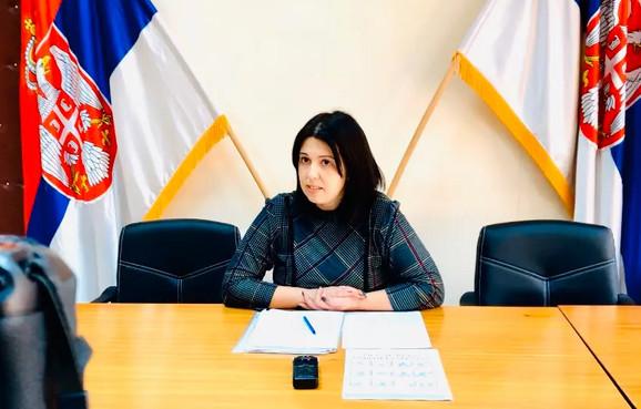 Predsedica opštine Svrljig i komandant Štaba za vanredne situacije Jelena Trifunović