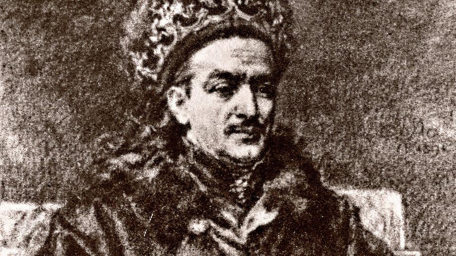 Król Kazimierz Jagiellończyk. Reprodukcja rysunku Jana Matejki