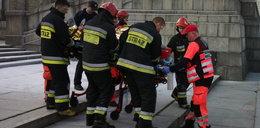 Samopodpalenie na Placu Defilad. 54-latek był poszukiwany przez policję