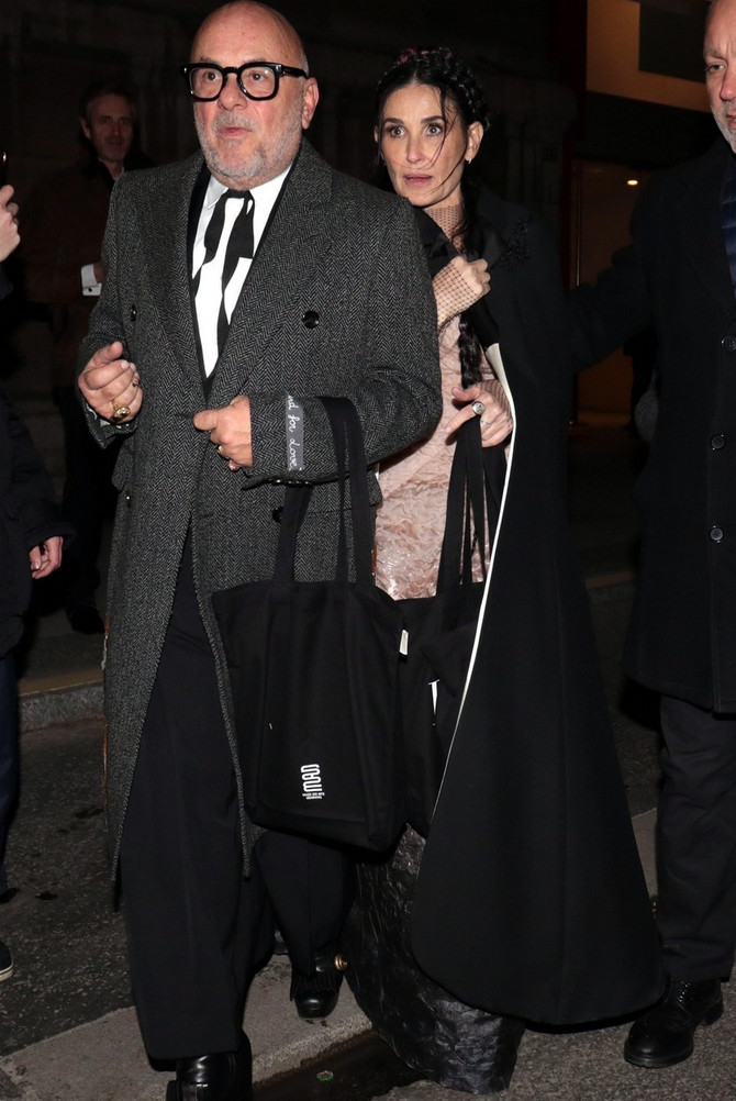 Demi Mur sinoć nakon Harper's Bazaar  zabave u Parizu