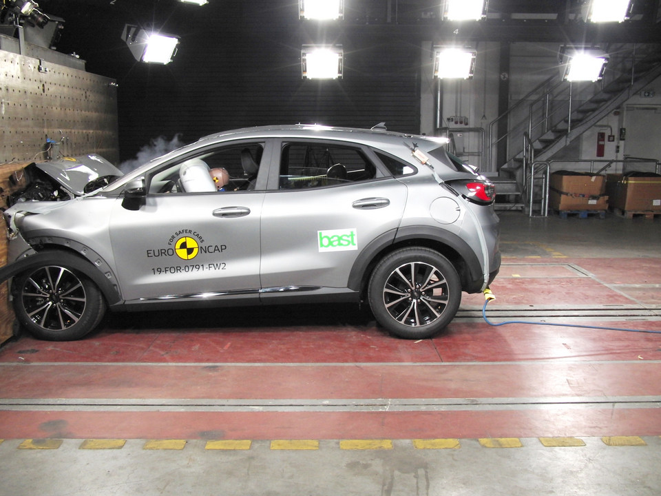 Crash-test: Ford Puma