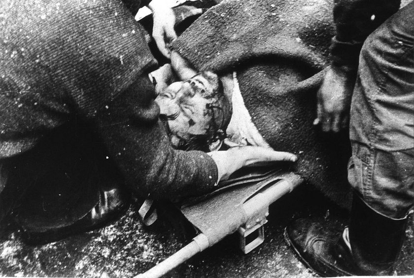 Najbardziej wstrząsające zdjęcia stanu wojennego