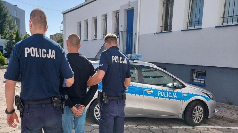 Areszt za przestępstwa narkotykowe i posiadanie granatu bojowego