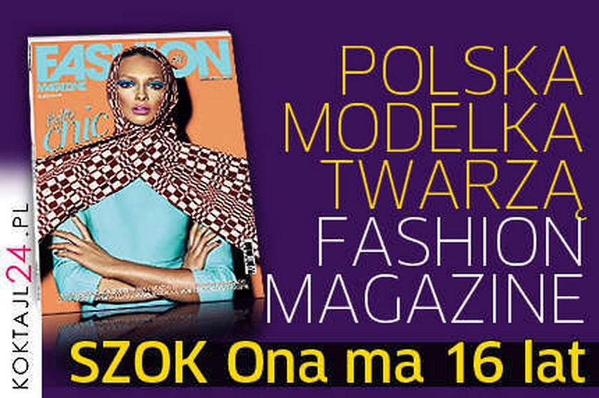 "Polska top model w ""Fashion Magazine"""