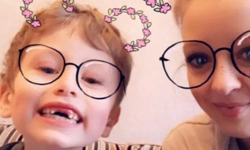 Bethany Vincent i jej syn Darren