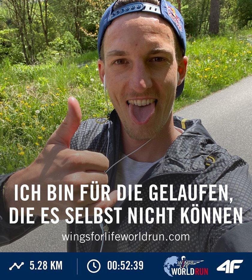 Gregor Schlierenzauer pokonał 5,28 km