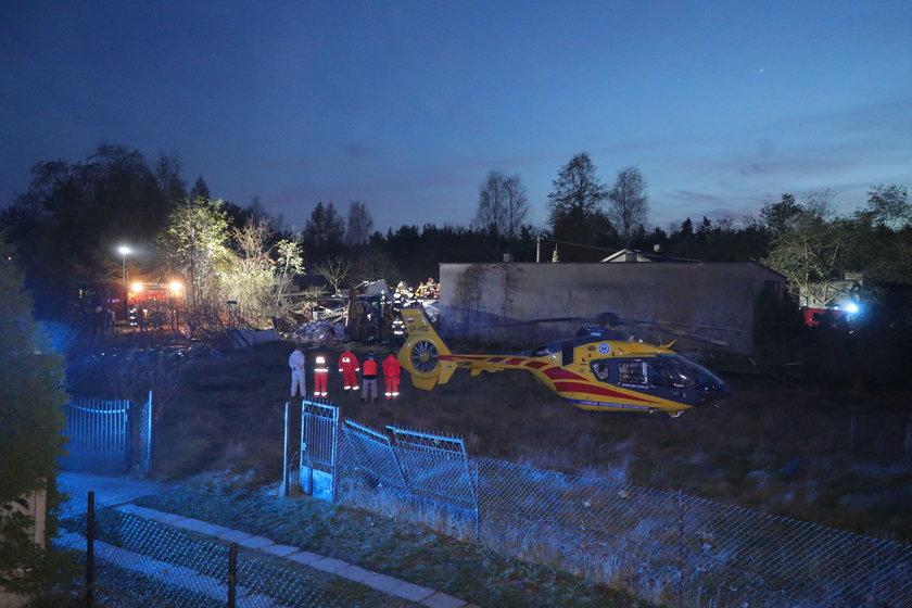 Wybuch gazu w Łódzkiem. Po gruzami są dwie osoby