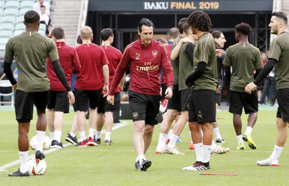 Igrači Arsenala su spremni za finale