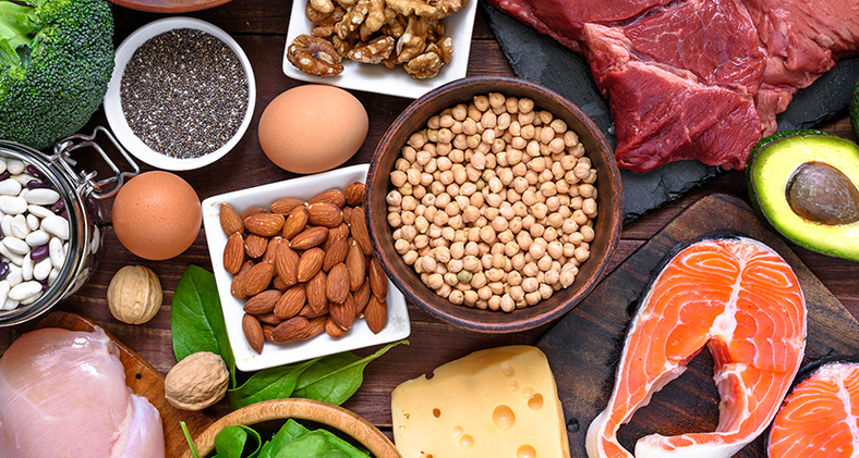 Eating protein-rich foods will help you put on weight