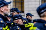 Holandska policija Holandija EPA ROBIN UTRECHT