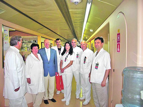 Doktor Ignjatović sa kolegama iz Slovenije