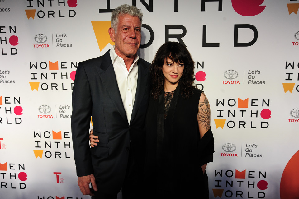 Asia Argento i Anthony Bourdain