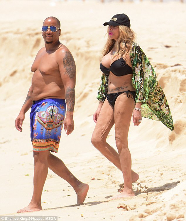 Wendy Williams and husband, Kelvin Hunter
