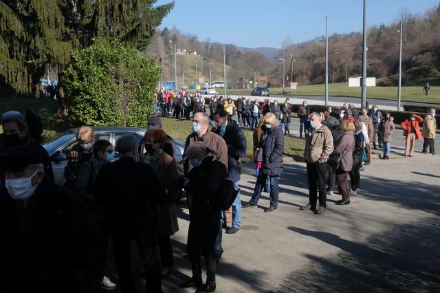 Vakcinacija u Zagrebu