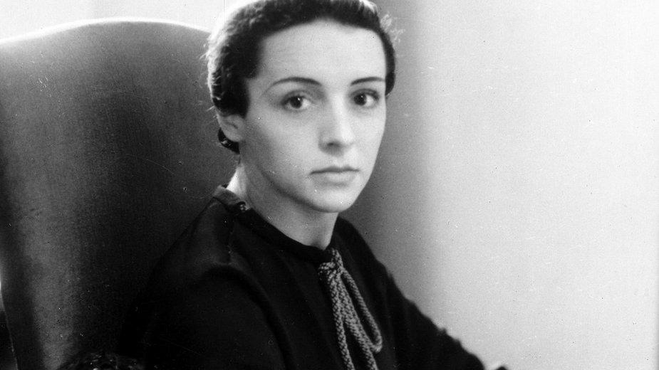 Eve Curie - młodsza córka Marii Skłodowskiej i Pierre'a Curie
