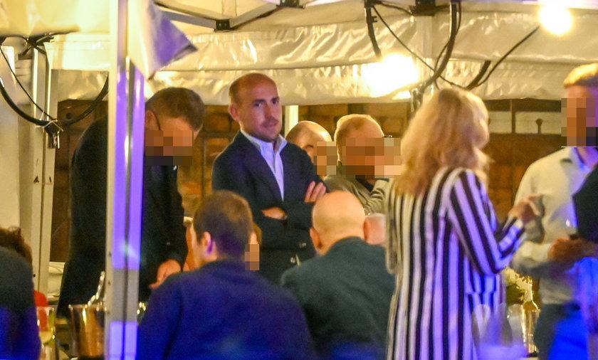 Na imprezie był również prezes KO Borys Budka.