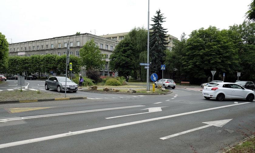 Katowice. Rondo zamiast skrzyżowania przy ul. Misjonaryz Oblatów