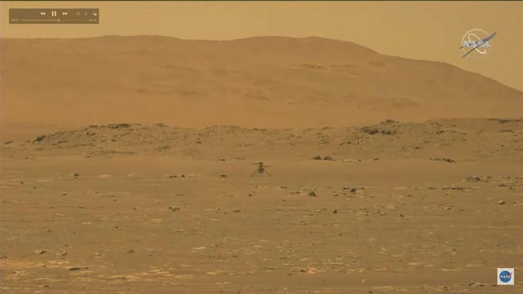 Istorijski let helikoptera na Marsu - Indženuiti