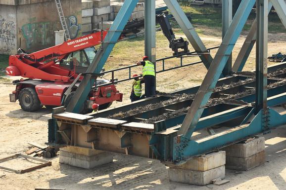 Uklanjanje montažno-demontažnog mosta