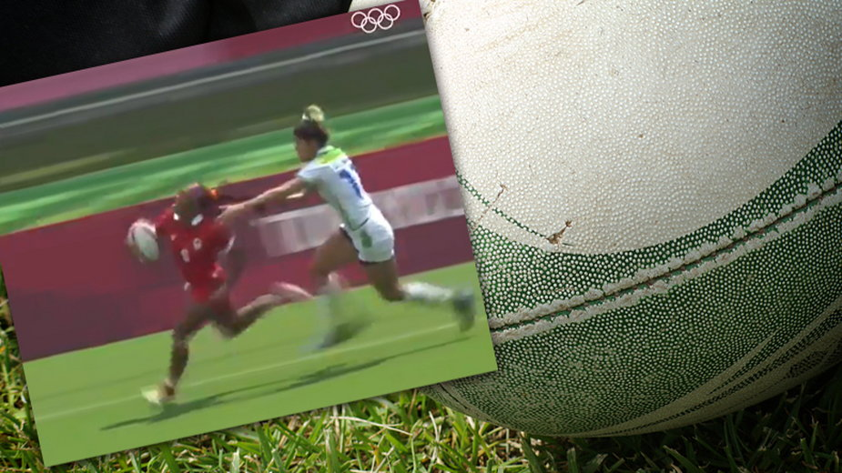 Niesportowe zachowanie zawodniczki z Brazylii. Nie mogła dogonić rywalki (fot. Twitter/Eurosport_PL)