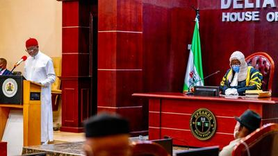 Delta Gov Okowa presents N378.48bn 'Budget of Recovery' for 2021