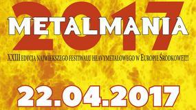 Metalmania 2017: bilety w sprzedaży od 14 listopada
