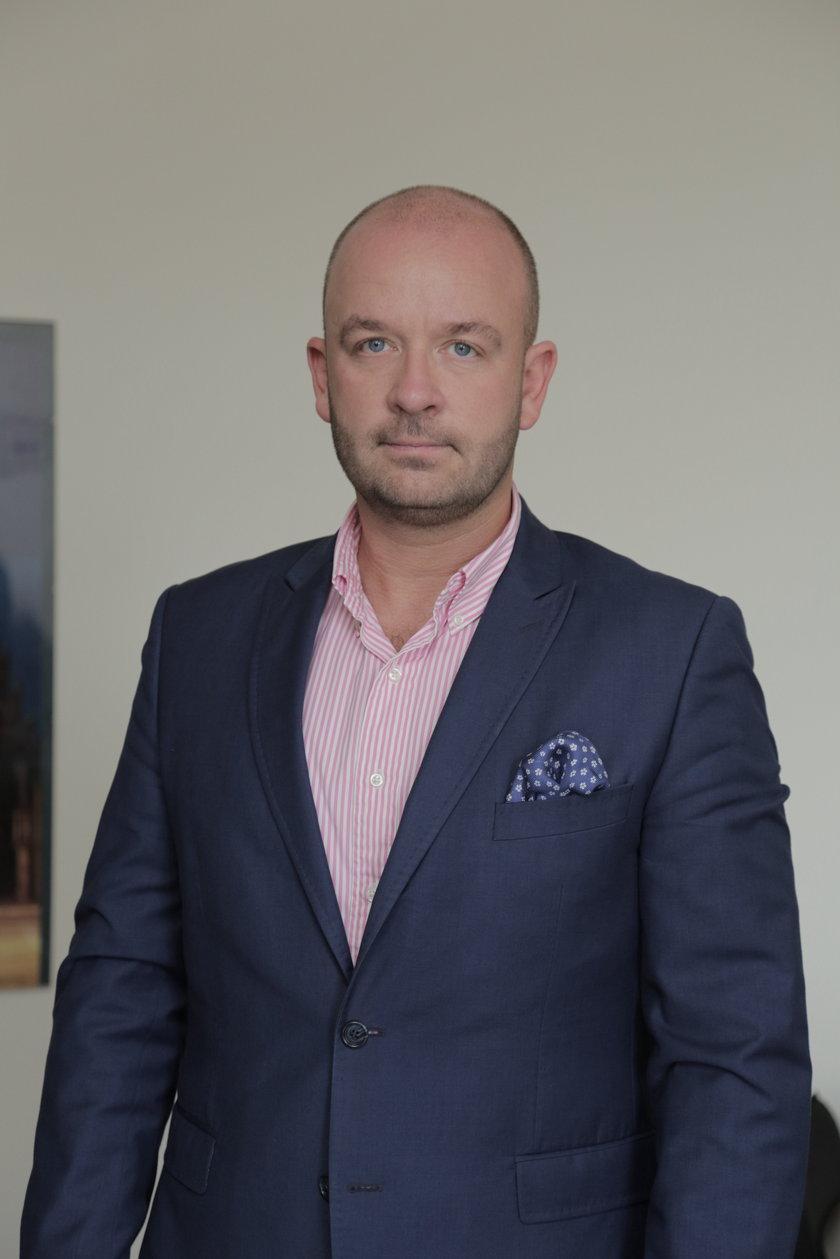 Jacek Sutryk (35 l.), dyrektor departamentu spraw społecznych wrocławskiego magistratu