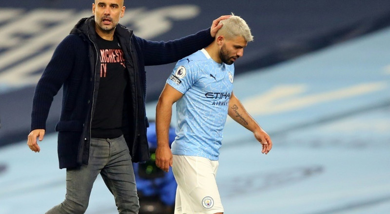 Guardiola continues to back Aguero over female linesman incident