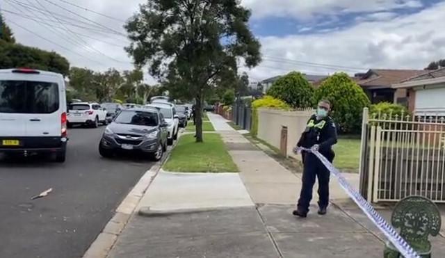 Policija na mestu ubistva
