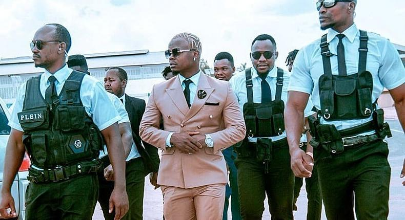 Harmonize gives details of his new restaurant that will offer free food