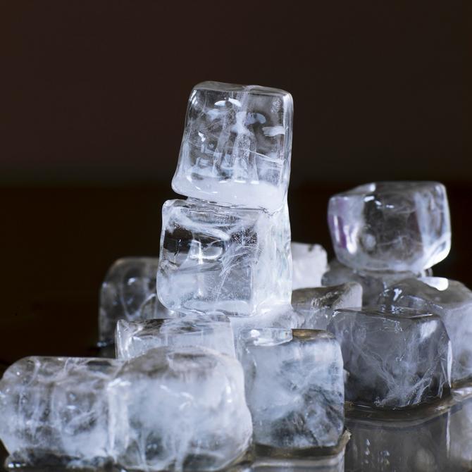 Natrljati kožu ledom