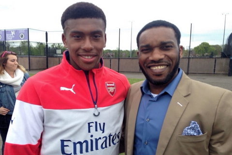 Alex Iwobi says he didn't learn how to nutmeg opponent from his famous uncle Jay Jay Okocha