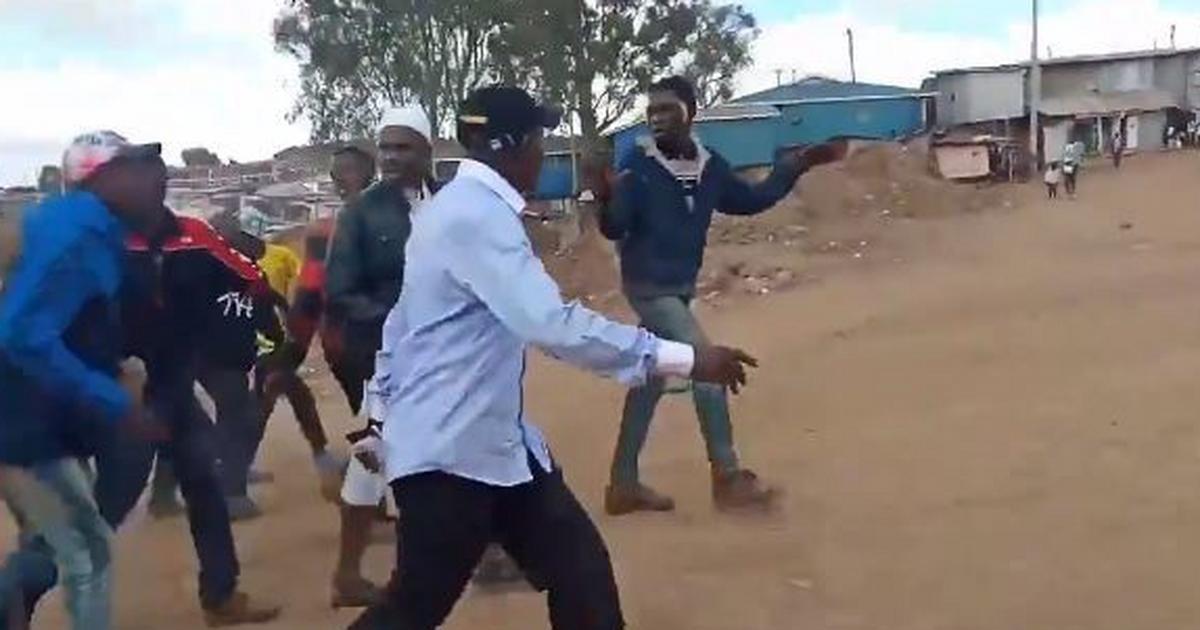 Image result for kibra by election violence