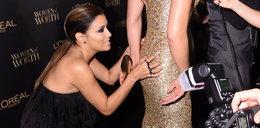 Eva Longoria obłapia koleżankę. Jak zareagowała?