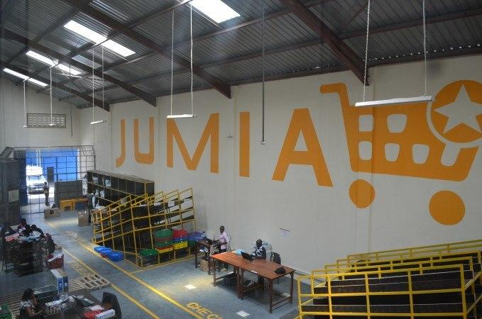 A Jumia warehouse