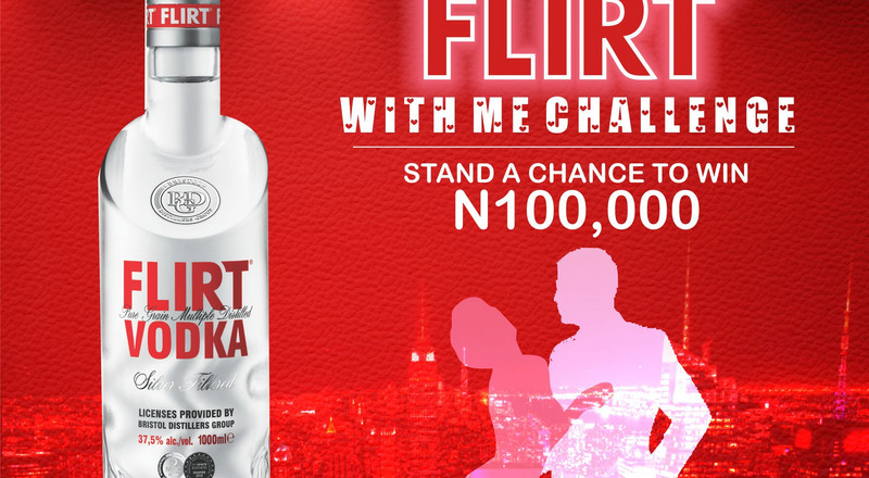 Flirt Vodka begins #Flirtwithme Challenge to reward consumers
