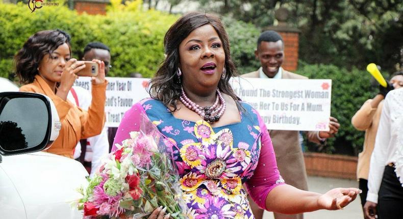 Kathy Kiuna's grand birthday celebration angers Kenyans