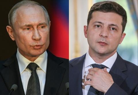 Zelensky, Putin hold phone talks on East Ukraine ceasefire
