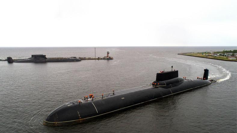 Rosyjskie okręty podwodne