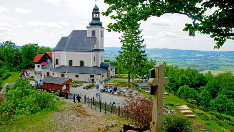 """Sanktuarium Matki Bożej Przyczyny Naszej Radości """"Maria Śnieżna"""""""