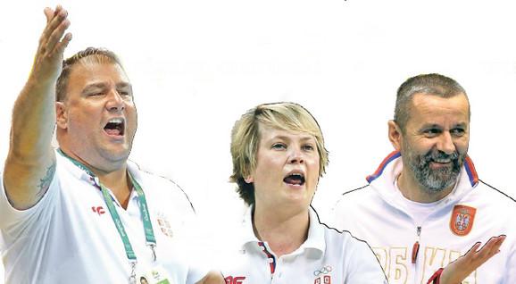 Dejan Savić, Marina Maljković, Bogdan Obradović