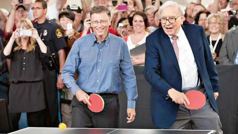 Bill Gates i Warren Buffett