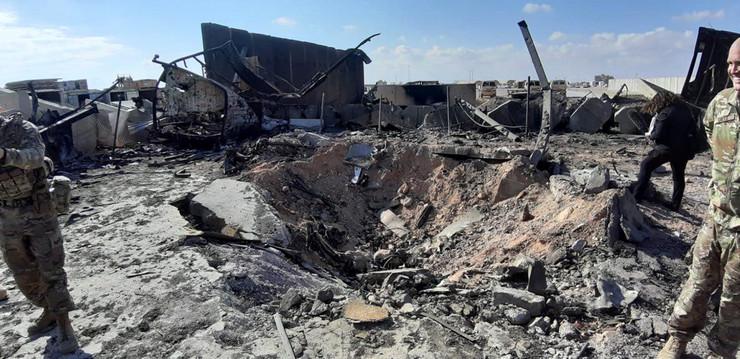 Ain Assad Base damage 03 foto EPA str